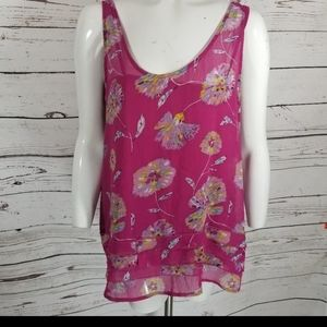 Old Navy Women's Large Ruffle Layered Cami Top L